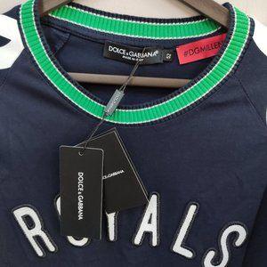 Other - Dolce Gabbana Men Navy Blue Casual T-Shirt